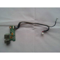 Power Jack Hp Dv6000 (conector De Alimentacion Y Usb)