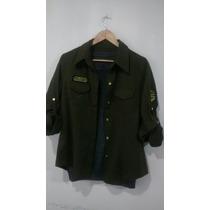 Camisas Militar De Mujer
