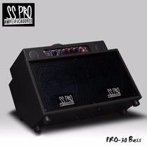 Amplificador Ss Pro Ss-30st.bass P/bajo 30w A Batería Edenlp