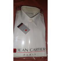 Camisa De Vestir Manga Larga Jean Cartier Talle 52 .