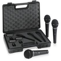 Set De Micrófonos Behringer X3 X1800s Dinámicos