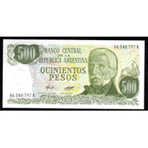Billete 500 Pesos Ley Bottero 2423 Sin Circular
