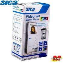 Kit Video Portero Color Manos Libres Sica Electro Medina