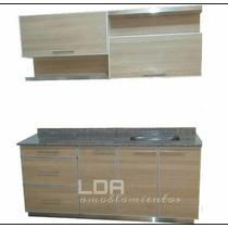 Muebles De Cocina C/cantos De Aluminio Completo 1.80 Mt