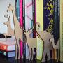 Separadores De Libros Con Forma De Animales Color Madera
