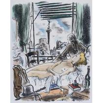 André Dignimont Litografías Enmarcadas Paris Ages Et Visages
