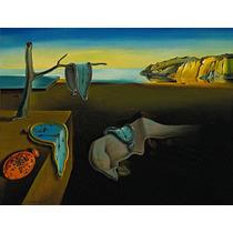Cuadro De Dalí Impreso En Canvas Sobre Bastidor, 45x34