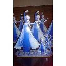 Centros De Mesa Frozen!!! Fibrofacil