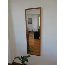 Espejo Probador Con Marco 38x123cm