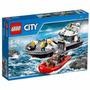 Educando Lego City Construcción Barco Patrulla Policía 60129