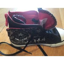 Zapatillas Converse All Star Nena 18 Cm Suela ! 12 Americano