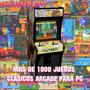 Arcade Mame 1000 Juegos * Ideal Para Pc Con Pocos Recursos *