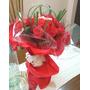 Ramos De Rosas Y Flores San Valentin Con Bombones Y Peluches