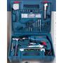 Taladro Percutor Bosch 13mm 550w Atornillador Kit 101 Piez