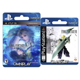 Final Fantasy X/x-2 Hd + Vii Clasico Psone-digital- Omniplay