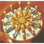 Telar De Plastico Cuadrado-redondo-triangular X10/12 Cm