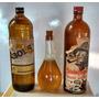 Lote De Botellas De Coleccion (ginebra Bols)