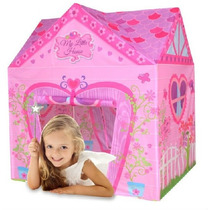 Casita Carpa Infantil Niños Modelo Little House Marca Iplay