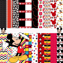 Kit Imprimible Mickey Mouse 10 Clipart - 20 Fondos.