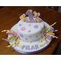 Tortas Decoradas Primer Año Un Año 1 Año Añito Vintange Buho