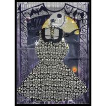 Vestido Acampanado Pin Up, Años 50, Dark, Goth, C Calaveras