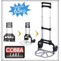 Carro Zorra Plegable %100 Aluminio! Cobra Cart...