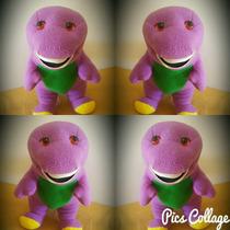 Peluche Barney, Gigante, Increible 50cm, ( Por Menor )