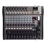Consola Mixer 12 Canales Soundxtreme Sxm 512 16 Efectos Cjf