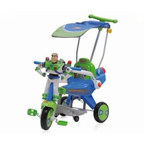 Triciclo Usado Buzz Lightyear Habla Toys Tory Bebe Capota