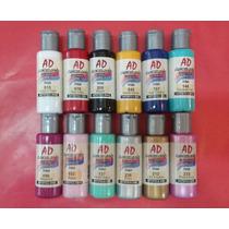 Acrílicos Decorativos Ad 5 Potes De 50 Ml.todos Los Colores
