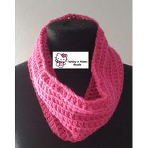 Cuellos Tejidos Crochet Una Sola Vuelta