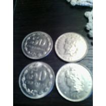 50 Centavos 1941 Moneda Argentina Cabellera Rizada