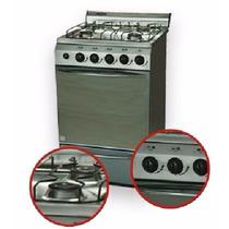 Oferta...!!!! Cocina Mahe Acero Autolimpiante 52 Cm.