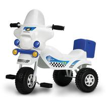Triciclo Unibike Policia Blanco