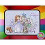 Cartuchera 2 Pisos Personalizada Princesita Sofia Princesas