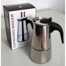 Oferta!!! Cafetera Espresso Italiano 4 Pocillos Acero Inox!!