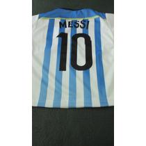 Camiseta Argentina Selección Messi Talle 1 Año