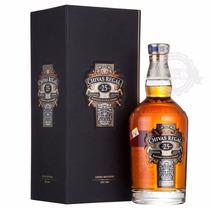 Whisky Chivas Regal 25 Años C/ Estuche Importado De Escocia
