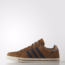 Zapatillas Adidas Neo Cacity Hombre Cuero Marron