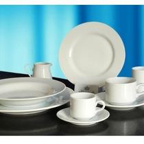 Set 12 Piezas Jarritos Café+plato Tsuji Linea Blanca Ss