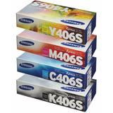 Toner Samsung Combo 4 Colores 406s Negro Myc 315w 365w 3305w