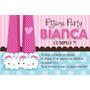 Kit Imprimible Pijama Party Decoración Candy Bar Cumpleaños