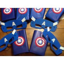 579227775 Bolsitas Capitán América Artesanales Pack 5 Unid en venta en San ...