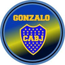 Etiquetas Candy Bar Personalizadas Boca Juniors