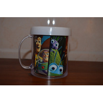 Lote 10 Tazas Pixar Toy Story Nemo Monster Inc Increíbles