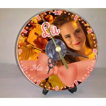 Souvenir Reloj Cd Cumples Gratis Pilas Y Atril!