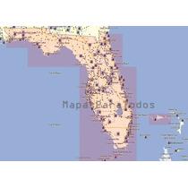 Mapas 2016 De Florida (miami - Orlando - Disney) Para Garmin