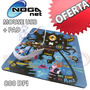 Mouse Optico Usb + Pad Noga Net Modelo Ngm-fun 4 Modelos