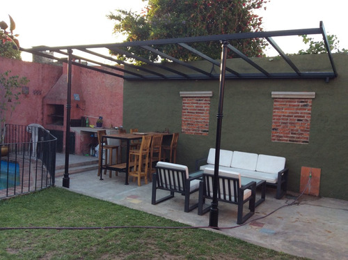 Pergolas de hierro ca o estructural trabajos a medida techos en venta en san isidro bs as g b a - Como hacer una pergola de hierro ...
