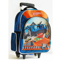 Mochila Grande Con Carro Hot Wheels 28705